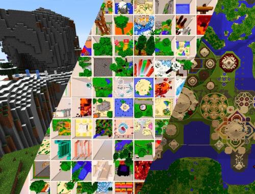 melhores mapas, jogando craft, baixe minecraft, jugar minecraft, 1600 mapas