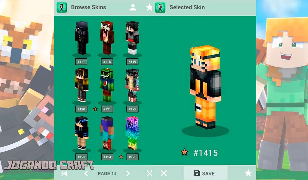 Minecraft Skins Editor, melhores skins, jogando craft, baixe minecraft, jugar minecraft