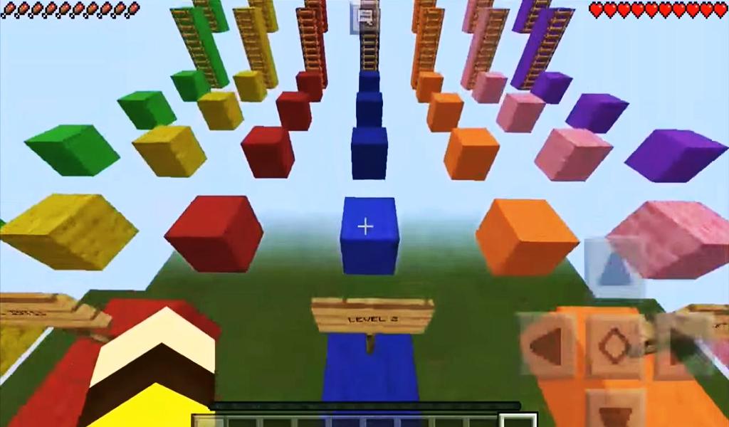 Minecraft Mapas de parkour, jogando craft, baixe minecraft, jugar parkour