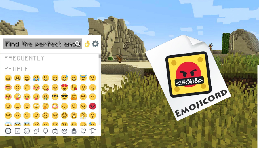Minecraft Emojicord Mod, jogando craft, baixe minecraft, jugar minecraft