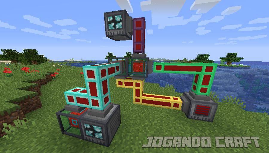Minecraft Refined Pipes Mod, jogando craft, baixe minecraft, jugar minecraft