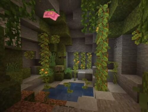 MINECRAFT 1.18 Caves and Cliffs