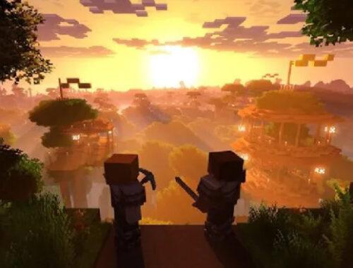 Minecraft 4k, alex e steve