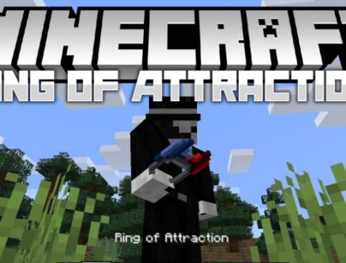 Minecraft Ring of Attraction, mods 1.17